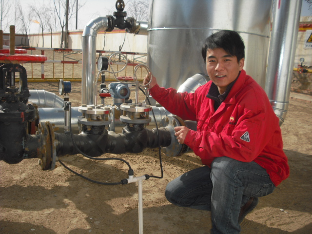 华恒液位变送器应用_长庆油田3151使用案例_国产液位计使用
